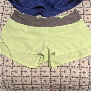 Size 6 LuLu Lemon Athletics Shorts